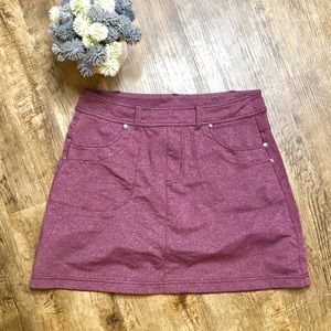Athleta purple Athletic skort size small golf